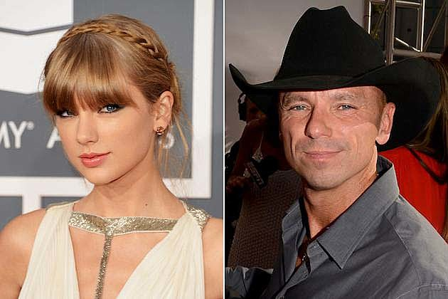 Taylor Swift, Kenny Chesney