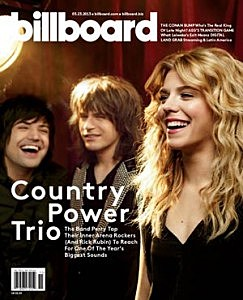 The Band Perry Billboard Cover