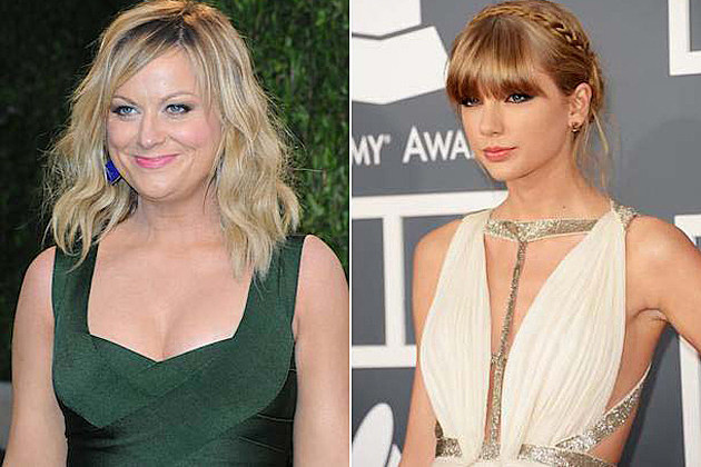 Amy Poehler, Taylor Swift