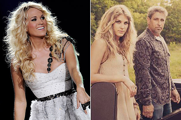 Carrie Underwood, the Henningsens