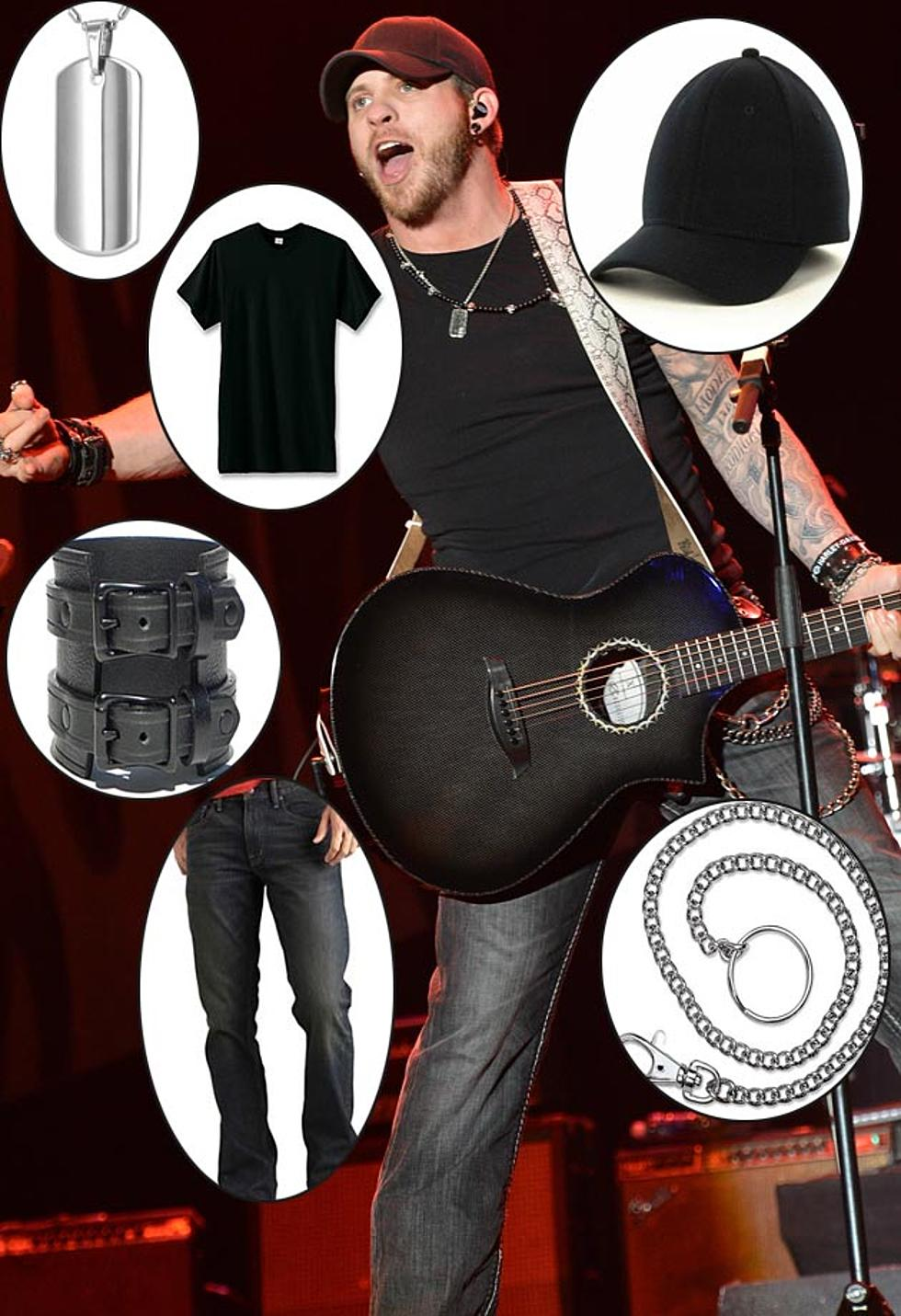 Brantley Gilbert S A Bad Boy In Dark Rinse Jeans Leather Cuff More Get The Look