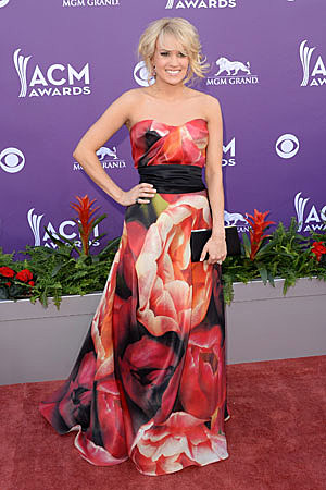 Carrie Underwood Worst Dressed ACM Awards