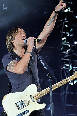 Keith Urban All for the Hall