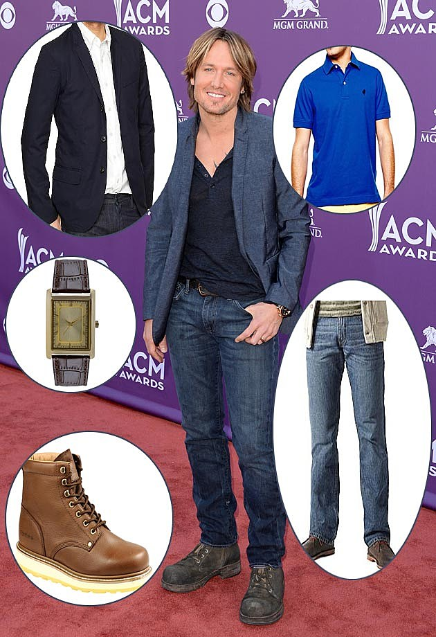 Keith Urban Get the Look