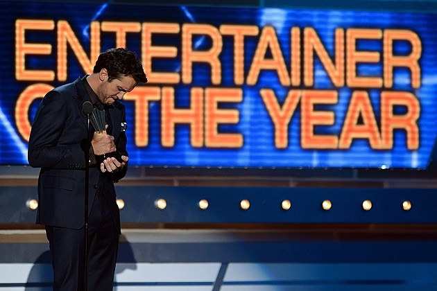 Luke Bryan Entertainer of the Year