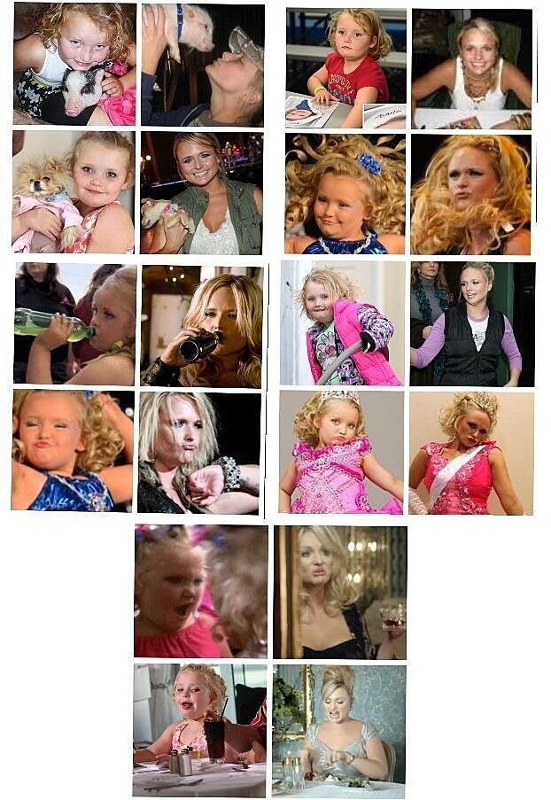 Miranda-Honey Boo Boo Comparison