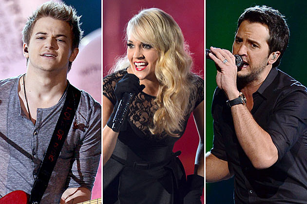 New Songs Radio Hunter Hayes, Carrie Underwood, Luke Bryan