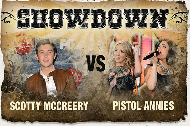 Scotty McCreery vs. Pistol Annies