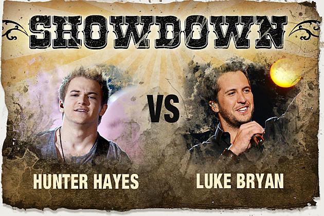 Hunter Hayes, Luke Bryan