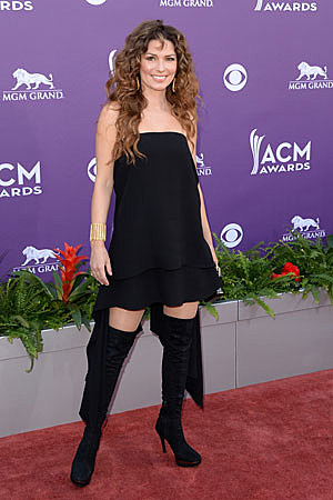 Shania Twain Worst Dressed ACM Awards