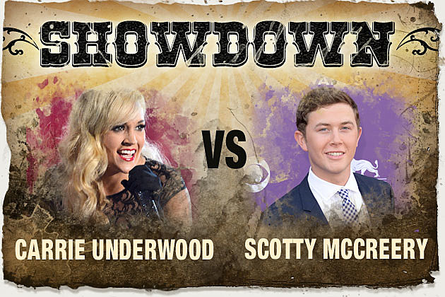 Carrie Underwood Scotty McCreery