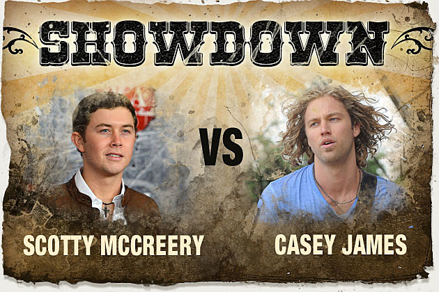 Scotty McCreery Casey James