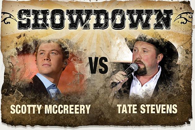 Scotty McCreery, Tate Stevens