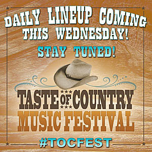 Taste of Country Music Festival