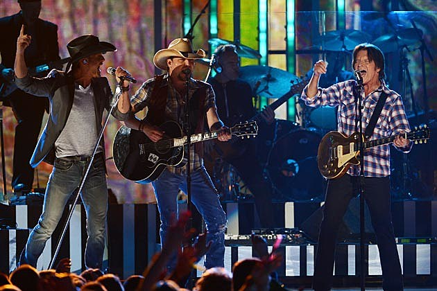 Jason Aldean John Forgerty Tim McGraw Superstar Summer Night