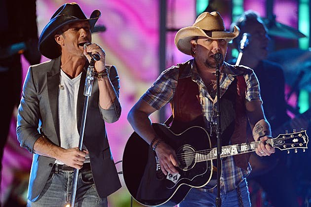 Jason Aldean Tim McGraw Superstar Summer Night