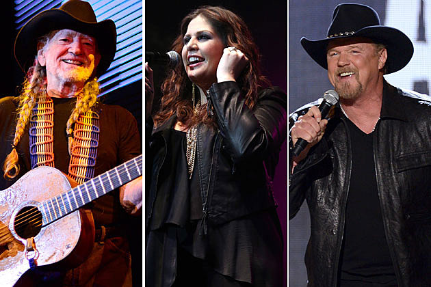 Willie Nelson Lady Antebellum Trace Adkins