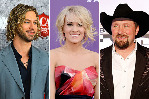 Casey James, Carrie Underwood, Tate Stevens