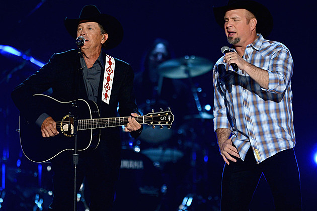 George Strait, Garth Brooks