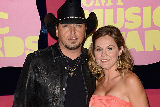 Jason Aldean and Wife