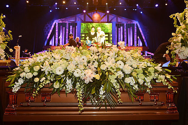 George jones funeral 1
