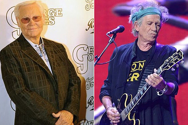George Jones Keith Richards