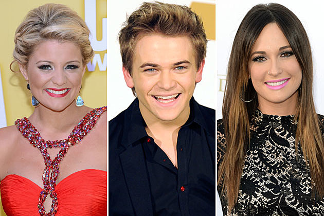 Lauren Alaina, Hunter Hayes, Kacey Musgraves