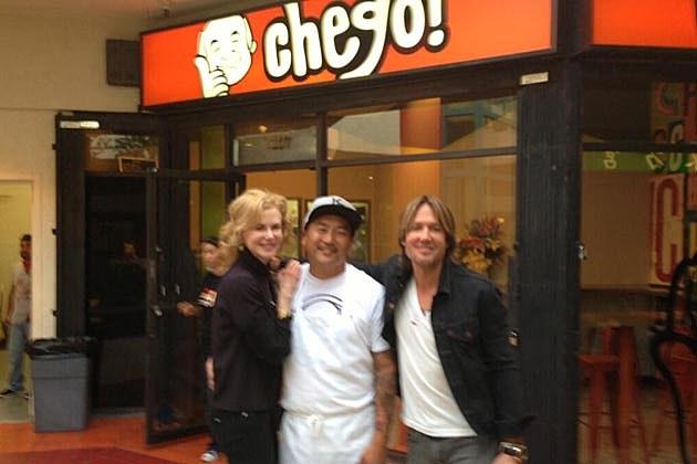 Keith Urban Nicole Kidman Chego!