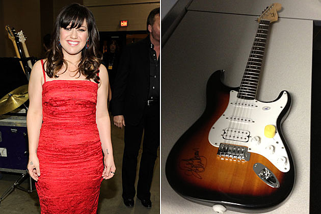 Win a Guitar Autographed by Kelly Clarkson Kelly Clarkson Baby Guitar