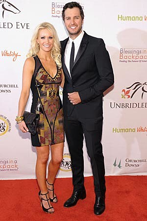 Luke Bryan Caroline Boyer Kentucky Derby
