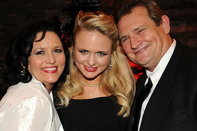 Miranda Lambert with Beverly and Rick