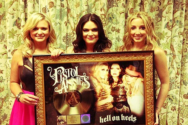 Pistol Annies Gold Record