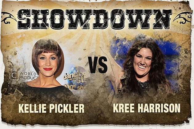 Showdown Kellie Pickler and Kree Harrison