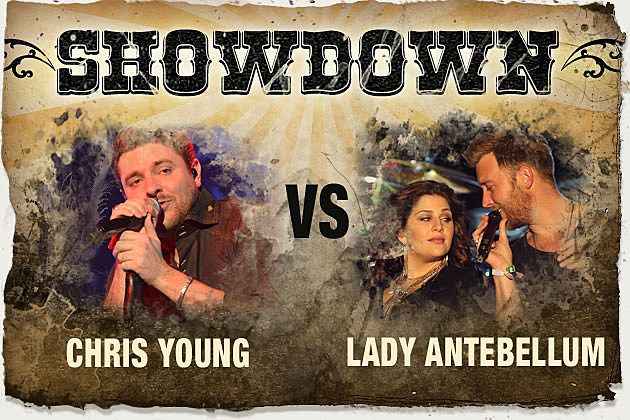 Showdown Chris Young Lady Antebellum