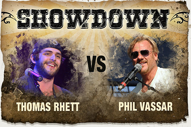 Thomas Rhett vs Phil Vassar Showdown