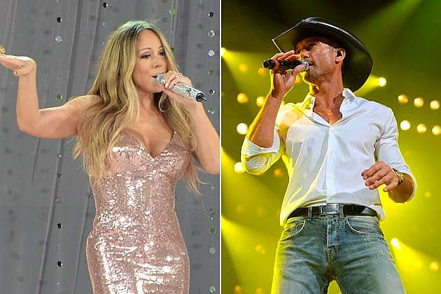 Tim McGraw, Mariah Carey