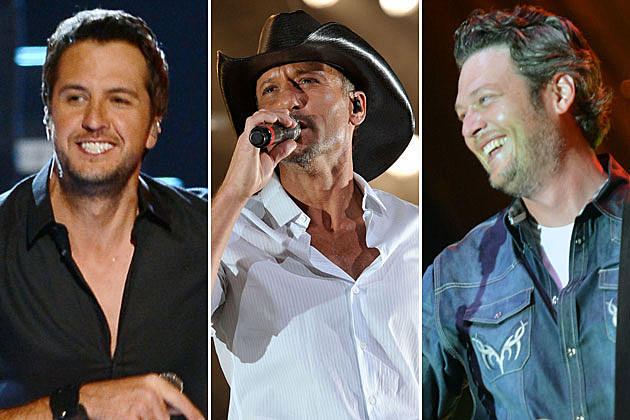 Luke Bryan, Tim McGraw, Blake Shelton