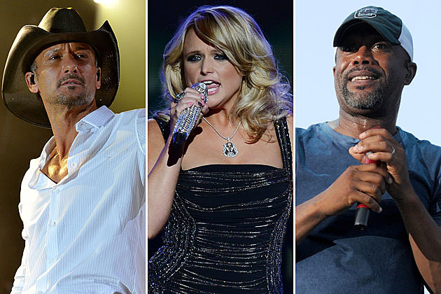 Tim McGraw, Miranda Lambert, Darius Rucker