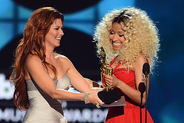 Shania Twain, Nicki Minaj
