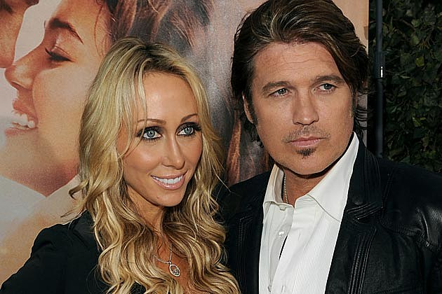 Billy Ray Tish Cyrus Divorce