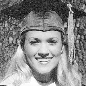 Carrie Underwood Grad Photo