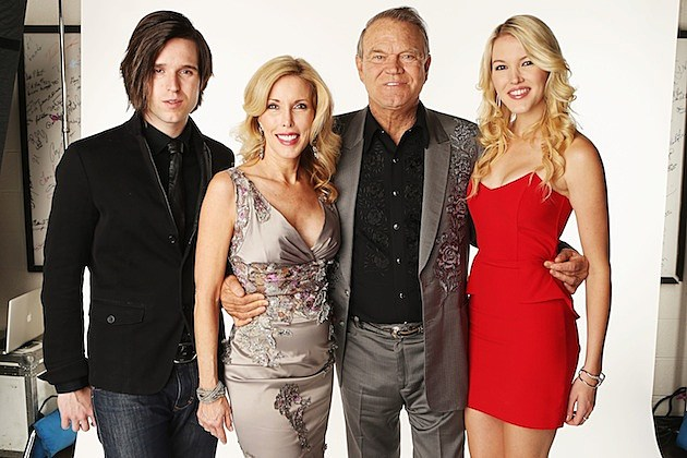 Glen Campbell Family