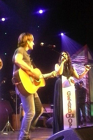 Kree Harrison, Keith Urban