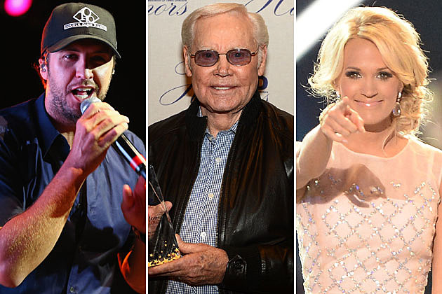 Luke Bryan George Jones Carrie Underwood