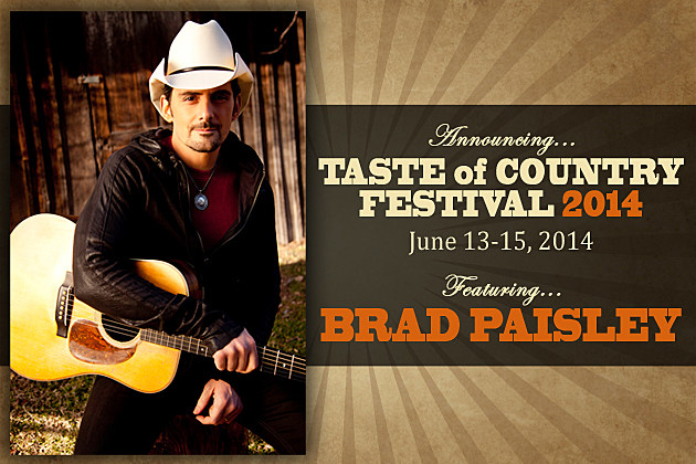 Brad Paisley ToC Festival