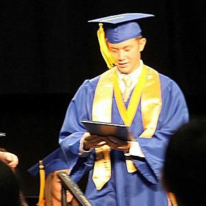 Scotty McCreery's Graduation Picture