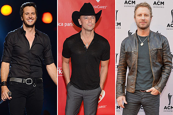 Long Hair Male Country Singers : Sexiest male country stars of