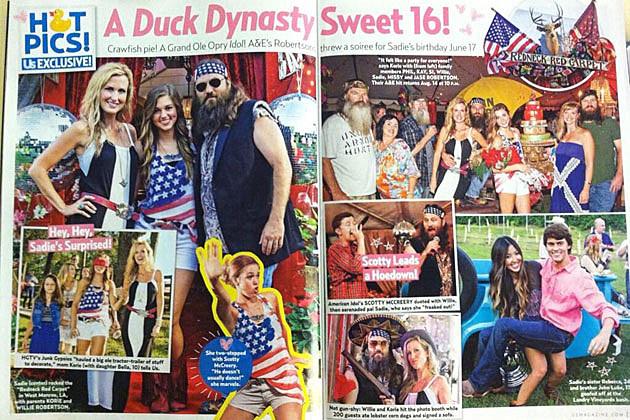 Scotty McCreery Plays 'Duck Dynasty' Star Sadie Robertson ...