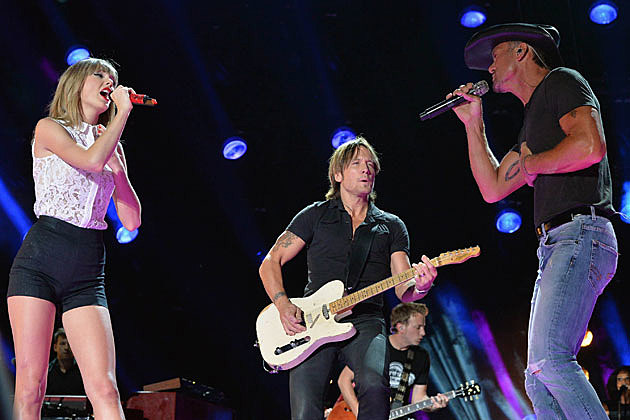 Taylor Swift Keith Urban Tim McGraw
