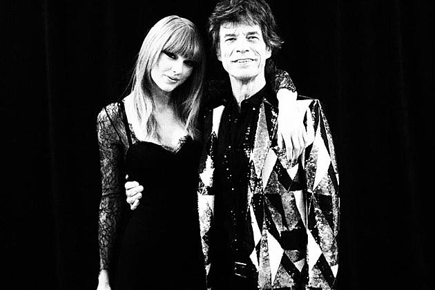 Taylor Swift Mick Jagger Rolling Stones Chicago